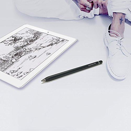 JAYLONG Ipad Active Stylet-Capacitif 2.2Mm Stylo Numérique La Plume Peut Se Tenir Usure Et Larme avec Cintre Crayon Spécial pour Ipad Pro/iOS 11.3 Ipad,Black