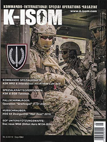 K-ISOM Ausgabe 5/2019 September/Oktober Kommando Spezialkräfte Fallschirmjäger Hubschrauber Spezialkräfteoperationen