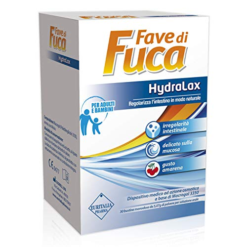 Euritalia Pharma Fave Di Fuca HydraLax Dispositivo Medico Amarena 30 Bustine