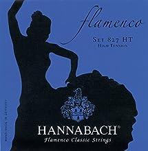 Cuerdas para guitarra Flamenco Cuerda suelta E6/Mi6 Cuerdas graves: entorchado redondo y protección contra las manchas Hechas en Alemania
