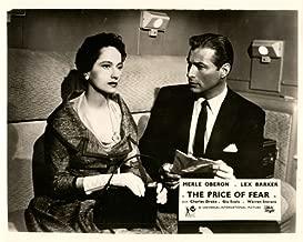 THE PRICE OF FEAR ORIGINAL LOBBY CARD LEX BARKER MERLE OBERON 1956