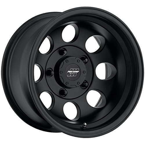 Pro Comp 70695165 Flat Black Wheel with Painted Finish (15x10'/5x114.3mm)