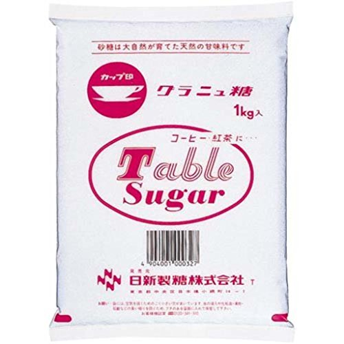 (まとめ買い)日新製糖 カップ印グラニュー糖 1kg 【×30セット】