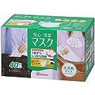 アイリスオーヤマ マスク 大きめ 安心・清潔 40枚入(PM2.5 花粉 黄砂対応)