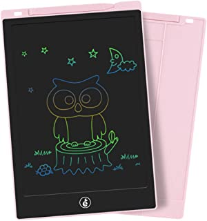 LCD Writing Tablet, Electronic Colorful Screen Drawing Board Kids Tablets Doodle Board Writing Pad for Kids at Home, School and Office (11-Inch, Pink)