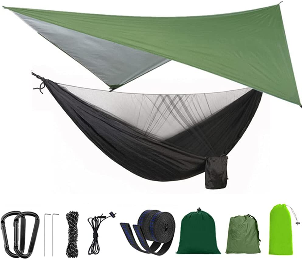 MXXQQ Camping Hammock with Mosquito OFFer Shade 2 Cloth Max 59% OFF Net Person