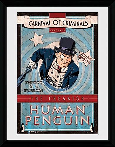 GB Eye Ltd Foto Batman Comic Circus Human Penguin, gerahmt, ca. 41x30cm