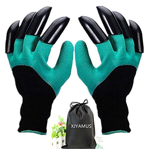 XJYAMUS Garden Genie Gloves, Waterproof Garden Gloves with Claw For...