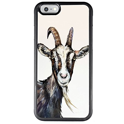 Case for iPhone 6s 6 Goat Phone Case TPU Protective Black Case