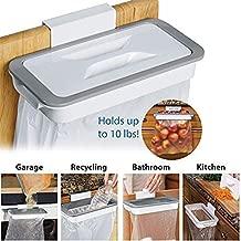 H M Enterprise Attachable Kitchen Cupboard Hanging Trash Waste Garbage Bag Holder