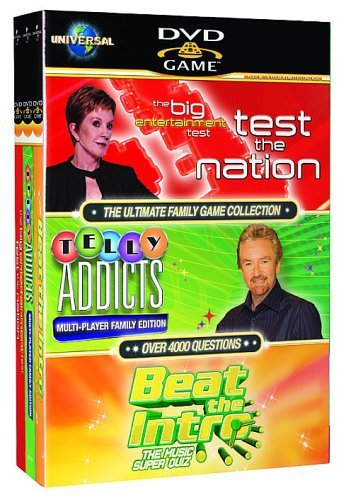 Test the Nation/Telly Addicts/Beat the Intro [DVD Games] [UK Import]