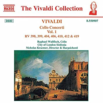 Vivaldi: Cello Concertos, Vol.  1