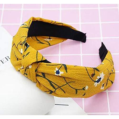 GUANGUA Top Noeud Arc Arc Bande de Cheveux Dame élastique Bande de Cheveux Accessoires de Cheveux tête Fleur Fille Bande de Cheveux