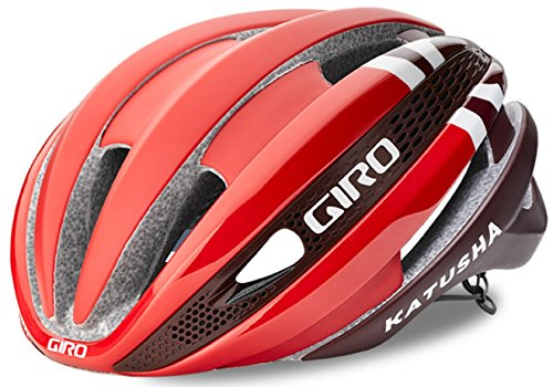 Giro Synthe MIPS Special Team Casco de 2017 de Katusha Cycling Team Casco