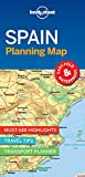 Lonely Planet Spain Planning Map [Idioma Inglés]