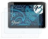 Bruni Schutzfolie kompatibel mit HP Elitepad 900 Folie, glasklare Bildschirmschutzfolie (2X)