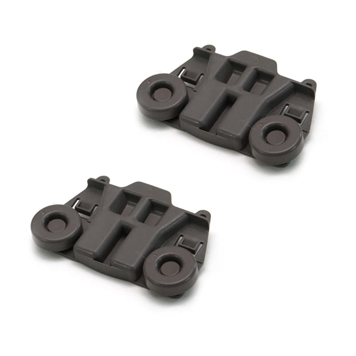 Protac New 2 PCS For Whirlpool W10195417 Dishwasher Rack Roller WPW10195417 AP4538395 PS2579553
