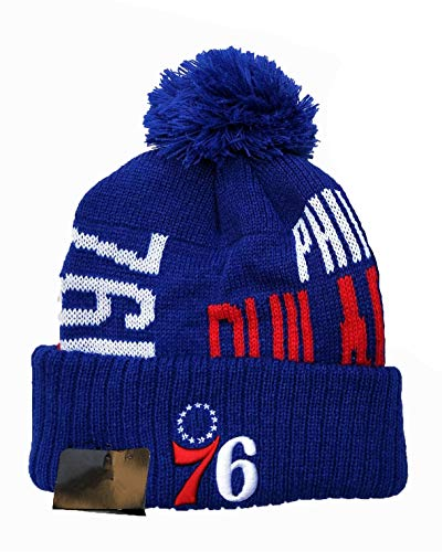 Qdkva Beanie Hat Winter Knit Cuffed Knit Cap Sport Hats Fashion Knitted Hat Embroidery Logo Hats (Celtics-Black)