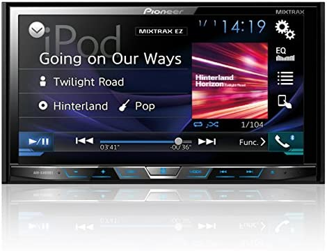 Amazon Com Pioneer Avhx4800bs 2 Din Receiver With 7 Motorized Display Built In Bluetooth Siri Eyes Free Appradio Discontinued By Manufacturer Car Electronics