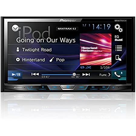 """Pioneer AVHX4800BS 2-DIN Receiver with 7"""" Motorized Display/Built-In Bluetooth/Siri Eyes Free/AppRadio (Discontinued by Manufacturer)"""