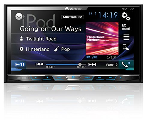 Pioneer AVHX4800BS 2-DIN Receiver with 7' Motorized Display/Built-In Bluetooth/Siri Eyes...