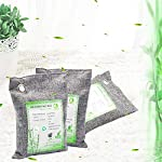 Activated Bamboo Charcoal Bags, Natural Air Purifying Fresheners,Moisture Remove for Home, Car, Closet, Bathroom (8 x… 14 NATURAL AIR PURIFIER-->>100% activated bamboo charcoal contains millions of tiny porous holes that naturally absorb and eliminate odors. This makes bamboo charcoal the perfect natural air freshener and odor remover. SAFE-->>Our activated charcoal air purifier bags are safe and effective, which has no fragrance or chemicals. They can purify your space air in the most natural, 100% safe way! It absorbs moisture and unpleasant odors like a sponge. These natural bamboo charcoal deodorizers are sure to be safe and you can leave it around your pets and your children while no worry for any incidents that might jeopardize their health. WIDE APPLICATIONS-->>The bamboo activated charcoal odor absorber bags has deodorizing and dehumidifying functions and which makes them work efficiently at any time and any place. It can be used in car,gym bag,smelly shoes,pet areas,bedroom,bathroom and fridge. Put the activated charcoal bag in these places, and it can absorb moisture or stink smell quickly and keep air fresh.