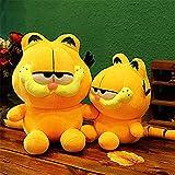 My Super Star Cute Garfield The Cat Plush Dolls Gifts Toys Plush Pillows Boys Girls Yellow Cat Animal Cartoon Figures (35cm,1 Piece)