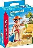 PLAYMOBIL Special Plus 70300 Urlauberin con Tumbona a Partir de 4 años