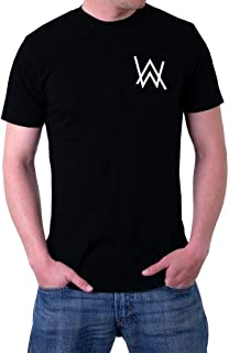 Alan Walker AW Logo Faded Spectre Men's T-Shirt X-Large Black