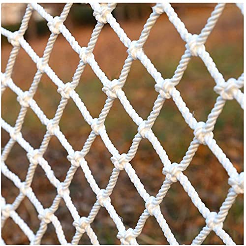 Hard Disk Safety Net for Kids, Climbing Cargo Net, Obstacle Course, Polyester Rope Ladder Net, Outdoor Playground for Backyard Treehouse Swingset Training, Max Load 200kg(10mm/10cm),25m(6.615.15ft)