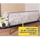 Safety 1st Bettschutzgitter Extra-Groß, Bettgitter für Kinder, nutzbar ab ca. 18 Monate bis ca. 5 Jahre, verhindert das Herausfallen, Länge: 150 cm - 3