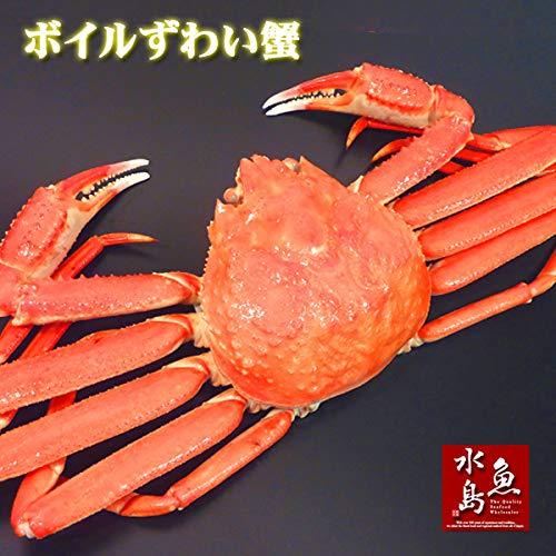 魚水島 極上品質 ズワイガニ・姿 6杯 3kg箱入り (冷凍)