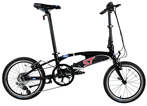 Affordable Ford by DAHON Model ST High Performance Speedy SRAM X-9 9-Speed All Aluminum Alloy Foldin...