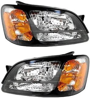 Koolzap For 00-04 Legacy GT Front Headlight Headlamp Head Light Lamp Left & Right SET PAIR