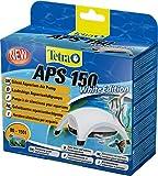 Tetra APS 150 Bomba de acuario 80 - 150 L, silenciosa y con aireadores potentes, blanca