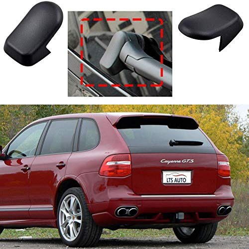 VIP KROM 2X Sunvisor Sunshade Mirror Cover Cap Gray Left Or Right Replacement for Mercedes-Benz E Class W210 W211
