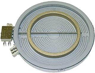 Ego 10.51216.412 - Radiador para placas de cocina (diámetro 210/135 mm, 2000/1000 W, 230 V)