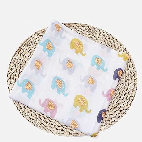 UKKO Bedsure Mantas para Sofás de Franela Muslin Cotton Swaddles Soft Blankets Bath Gauze Wrap Sleepsack Cover Play Mat Have Packaging