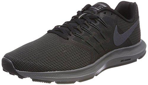 Nike Men's Run Swift Shoe, Black/Metallic Hematite-Dark Grey-Anthracite, 6 Regular US