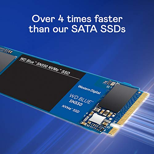 WD Blue SN550 500GB High-Performance M.2 Pcie NVMe SSD