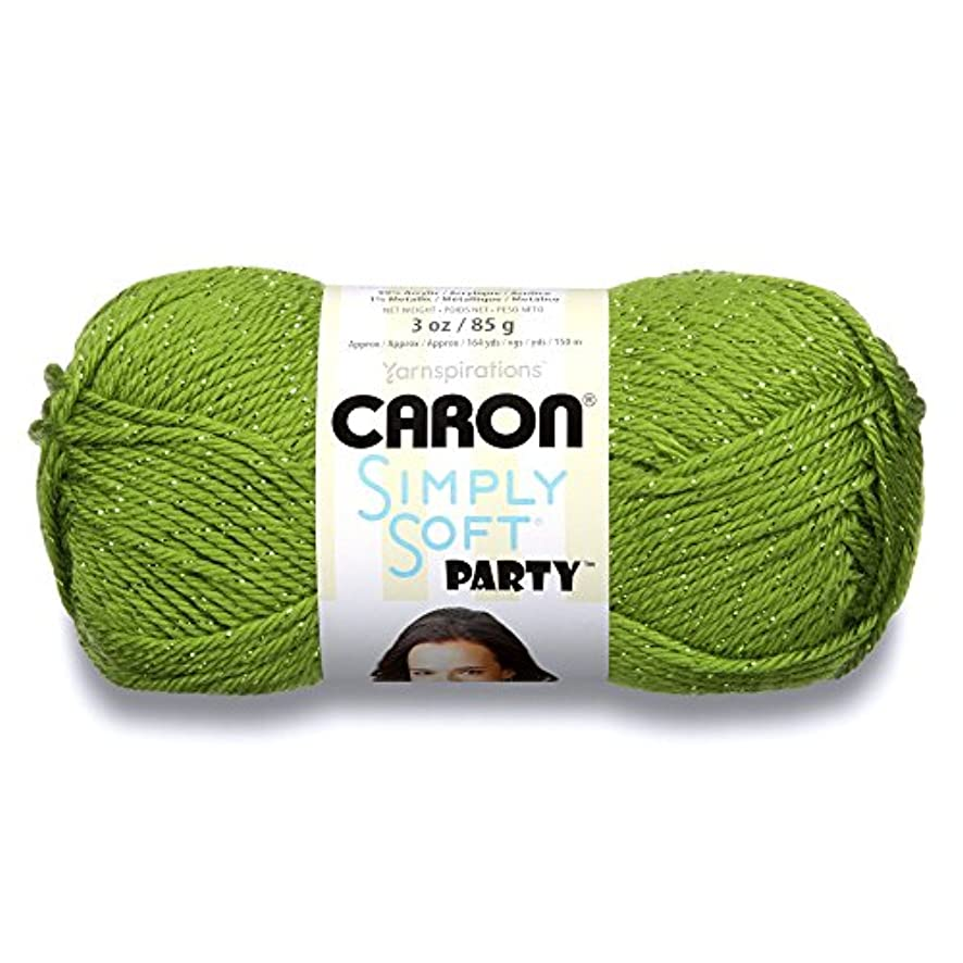 Caron H97PAR0003 Simply Soft Party Yarn - -4 Medium Worsted Gauge - 3 oz - Spring - For Crochet, Knitting & Crafting