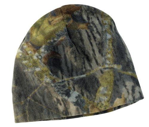 Port Authority® Camouflage Fleece Beanie. C901 Mossy Oak/ New Break-Up OSFA