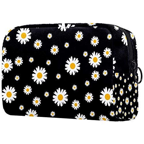 Beau sac de maquillage imprimé floral pour femme