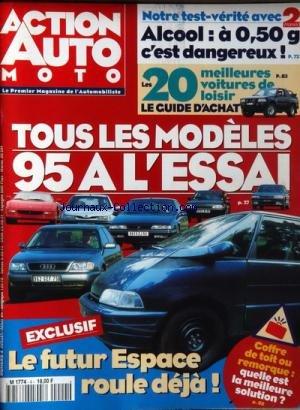 ACTION AUTO MOTO [No 4] du 01/07/1994 - TOUS LES...