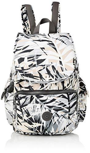 Kipling City Pack - Zaini Donna, Multicolore (Urban Palm), 32x37x18.5 cm