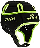 Optimum Homme Origin Casque de protection - Black/Fluorescent Yellow, Medium