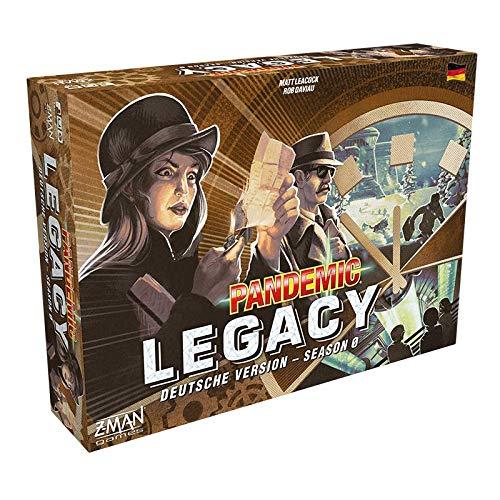 Asmodee DE ZMND0011 Pandemic Legacy - Season 0, Legacyspiel, Expertenspiel, Deutsch