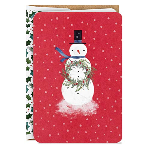 Hallmark Boxed Christmas Cards, Snowman (16 Cards and 17 Envelopes), 5XPX9462