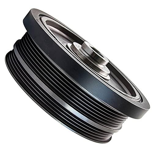 Autoshoppingcenter Puleggia Albero Motore per BMW Serie 1, Serie 3, Serie 5, E46 E60 E81 E87 E90 M47N 320D 520D 11237801977 11237793882 Crank Shaft Pulley Puleggia e Cinghia