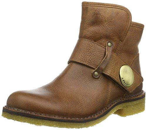 Ca'Shott Damen A14065 Biker Boots, Braun (Camel 135), 41 EU